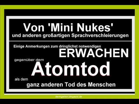 Atomtod - Der ganz andere Tod des Menschen
