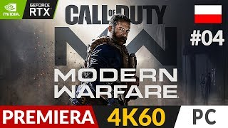 Call of Duty: Modern Warfare PL - 2019  #4 (odc.4) ⏳ Ambasada | COD:MW Gameplay po polsku RTX