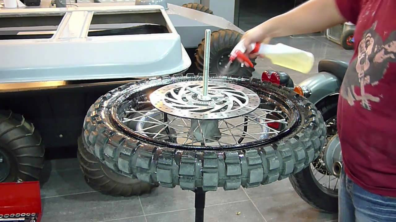 Easy To De Assembly Motorcycle Tire Youtube
