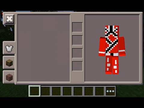 Minecraft PE Power Ranger Red Skin Costume Download YouTube - Skins para minecraft pe red