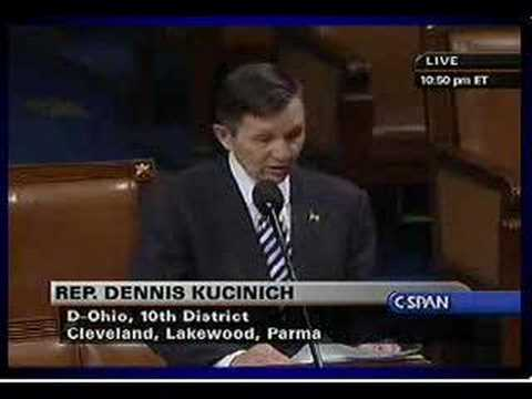 Kucinich: Articles of Impeachment 24.