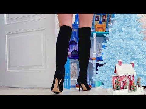 ВЛОГ Купила ПЛАТЬЕ на Новый Год и обувь на шпильке !