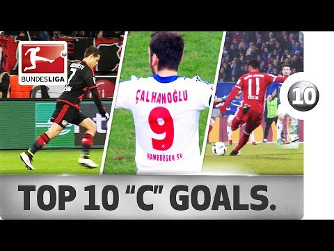 """Top 10 Goals - Players With """"C"""" - Chicharito, Costa & More"""