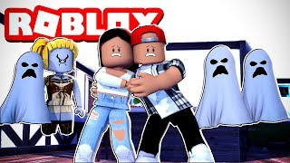 WE WENT HUNTING FOR THE SCARIEST GHOST IN ROBLOX! - ROBLOX GHOST SIMULATOR