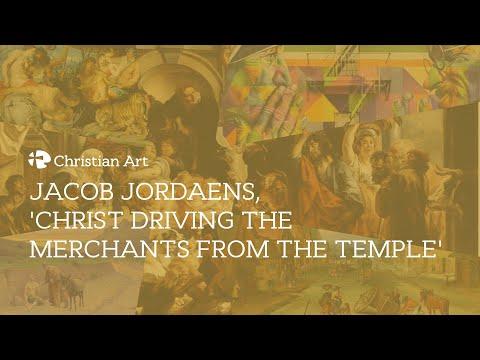 Jacob Jordaens, 'Christ driving the merchants from the Temple'