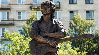 Памятник В.Цою в Петербурге 2020г смотреть онлайн в хорошем качестве - VIDEOOO