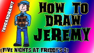 How To Draw Jeremy Fitzgerald from Five Nights At Freddy