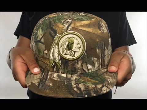 Redskins  NFL TEAM-BASIC  Realtree Camo Fitted Hat by New Era - YouTube 1998d8f08