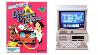 LGR - Playing Leisuire Suit Larry on an IBM PCjr