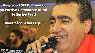 Hunermend Azad Faqe u Mustafa Xalid by TOP VIDEO Newroza  Dortmund  24   3   2017