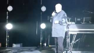 Peter Gabriel - The Family and the Fishing Net - live in Zurich @ Hallenstadion 18.11.2014
