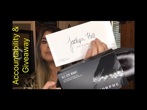 SEPTEMBER ACCOUNTABILITY | MONTHLY GIVEAWAY - JACLYN HILL PALETTE AND MORPHE BRUSHES | GOALS thumbnail