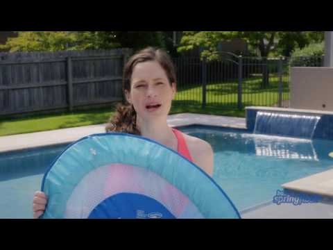 How To Inflate, Deflate, And Fold The Baby Spring Float