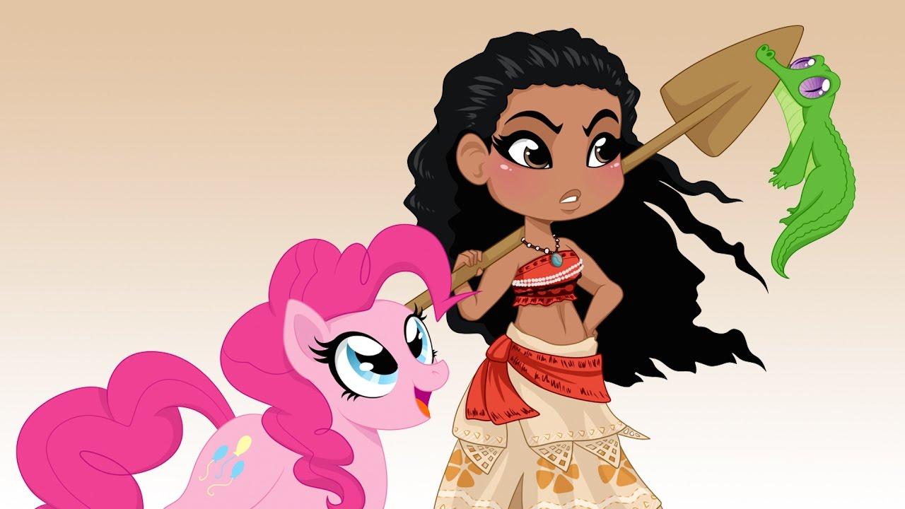 Moana meets My Little Pony