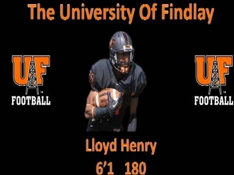Lloyd Henry #11 University of Findlay