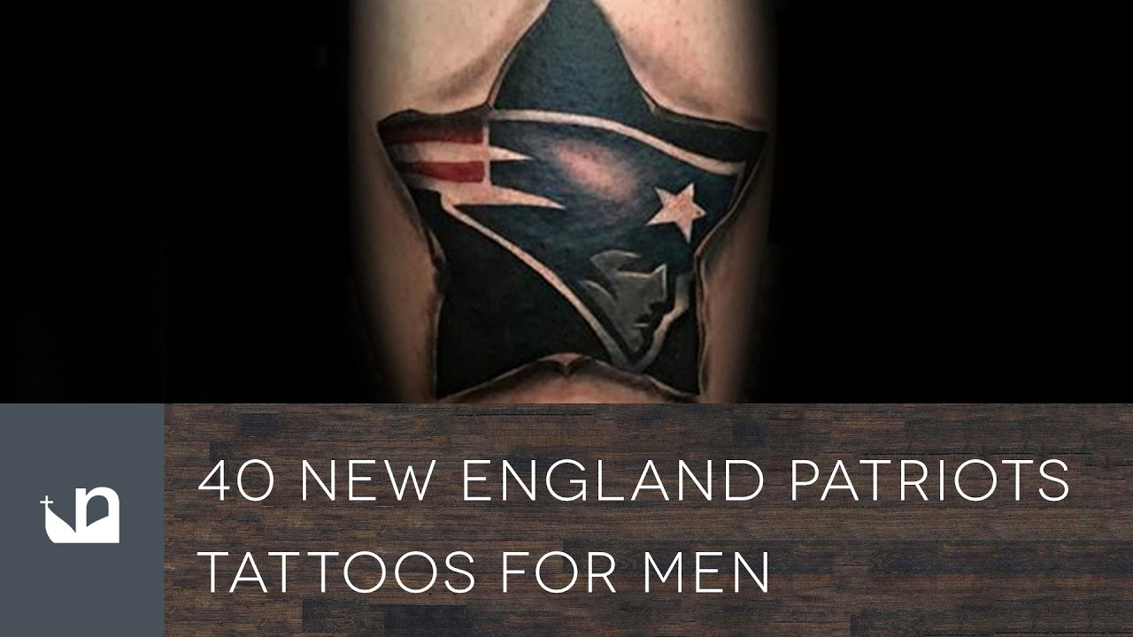 40 New England Patriots Tattoo Designs For Men – NFL Ink Ideas