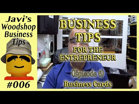 Biz Tips E06 - Proper Use & Design Of Business Cards