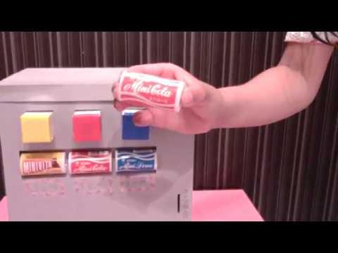 お金を入れないと買えない、ダンボール自販機作ってみた!!