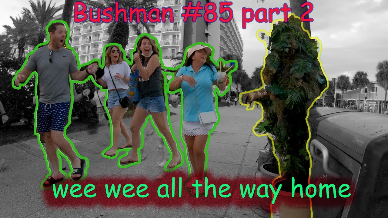 *new*This bushman makes the go we we all the way home. bushman #85 part 2