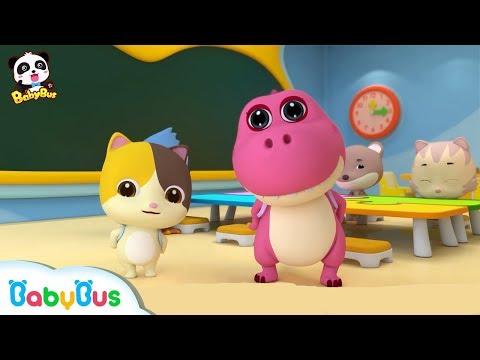 First Day of School | Hello Song | Nursery Rhymes | Kids Songs | Babies Videos | BabyBus