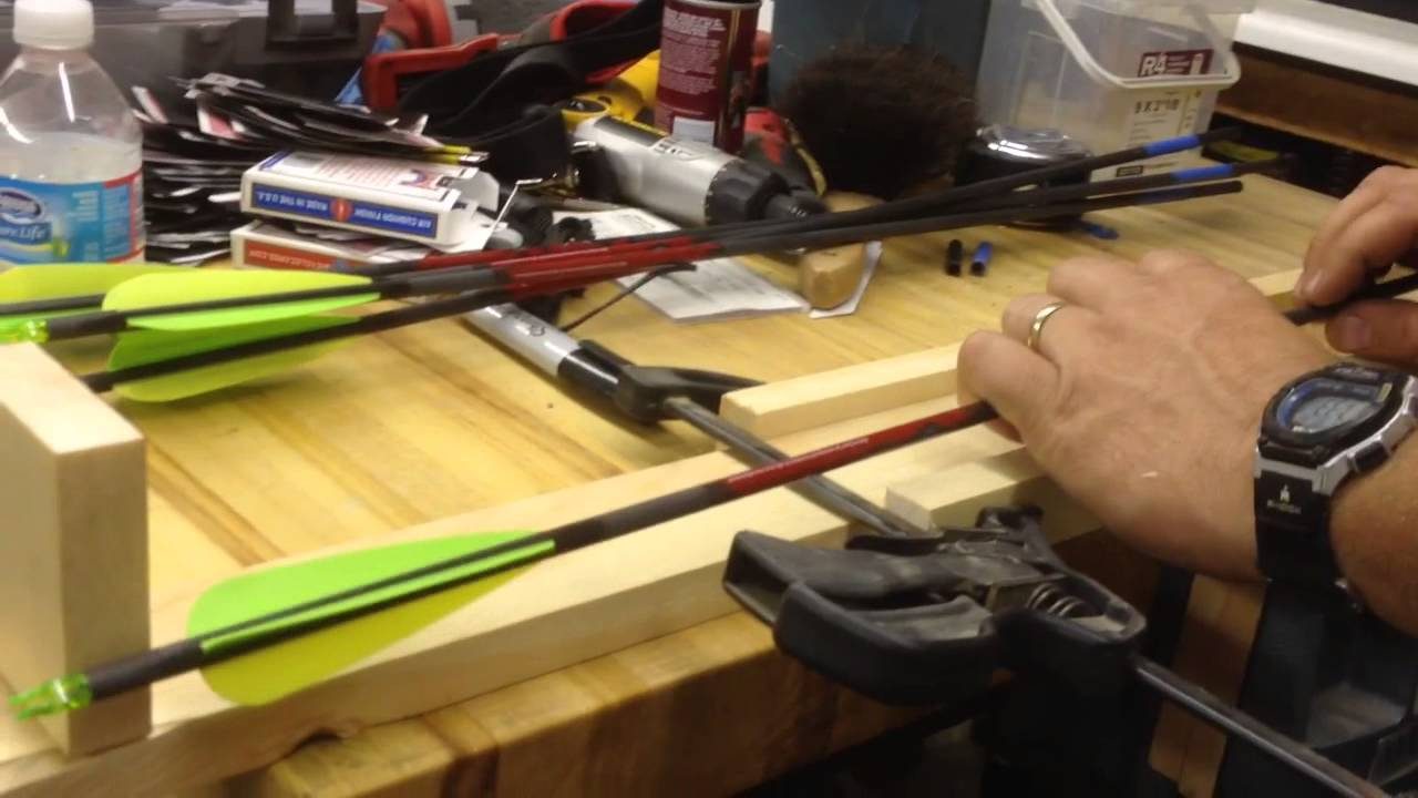 Homemade Arrow Saw Cut