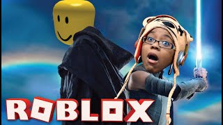 I'M IN THE NEW STAR WARS MOVIE | ROBLOX SABER SIMULATOR GAMEPLAY