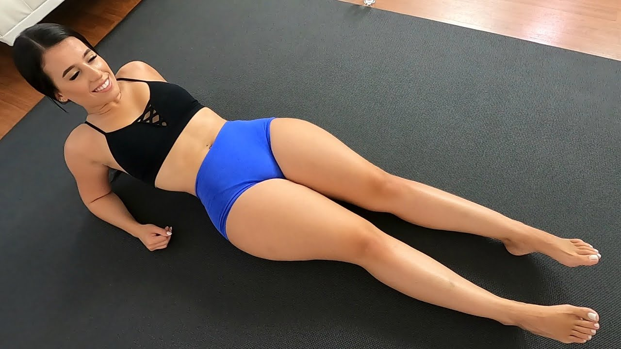 Girls Bikini Home Abs Workout for Sexy Stomach!! - YouTube