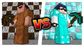 NOOB YOUTUBER vs PRO YOUTUBER! (Minecraft SHULKER WARS)