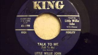 Little Willie John - Talk To Me - One Of My All Time Favorites