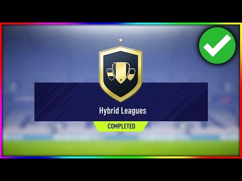 FIFA 18   HYBRID LEAGUES SBC *CHEAP* (FIFA 18 HYBRID LEAGUES SQUAD BUILDER CHALLENGE COMPLETED)