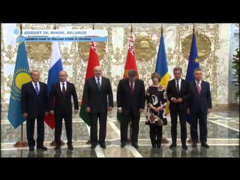 Minsk summit: Putin and Poroshenko meet EU and Eurasian Union leaders