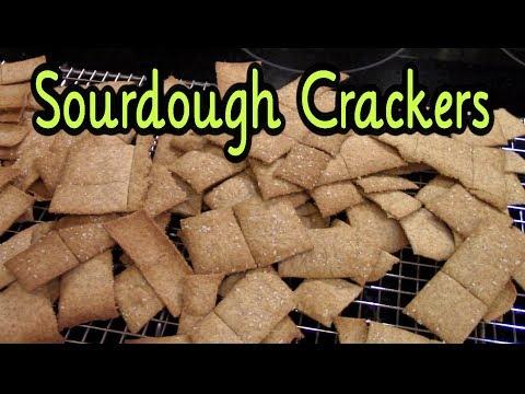 Sourdough Cracker Recipe ~ easy and SO delicious