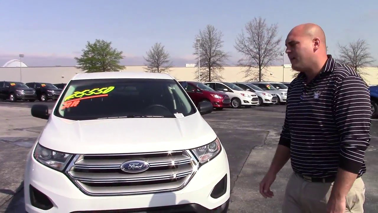 Ford Edge SE Dylan Calkins Marshal Mize Ford - Chattanooga ford dealers
