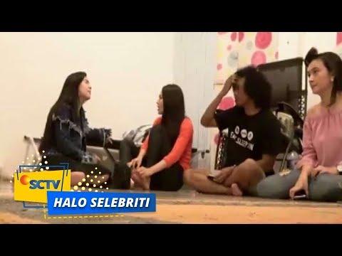 """Halo Selebriti - Felicya Angelista """"Grebek"""" Wilona dan Hito dilokasi Shooting?"""
