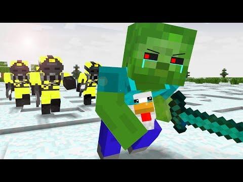 Zombie Life 1-4 - Craftronix Minecraft Animation