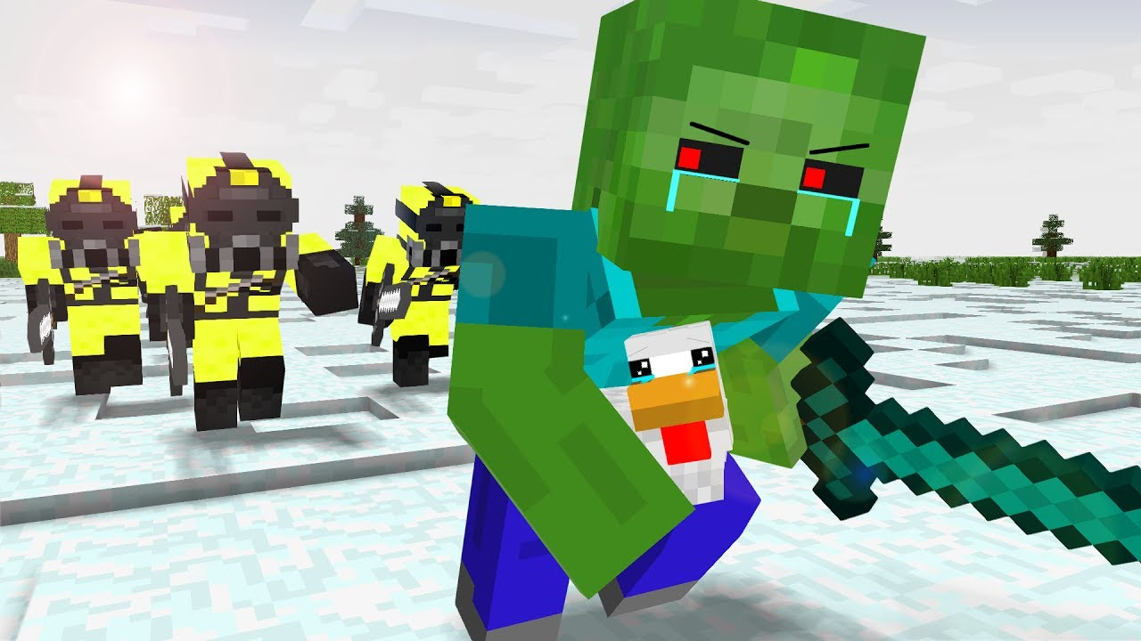 Zombie Life 1 4 Craftronix Minecraft Animation Youtube