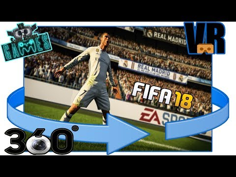 FIFA18 [VR 360°] REAL MADRID Experience - VR STUDIO RECORDS