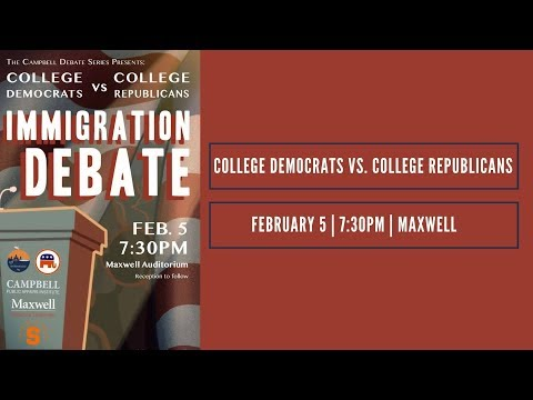 Campbell Debate: Immigration