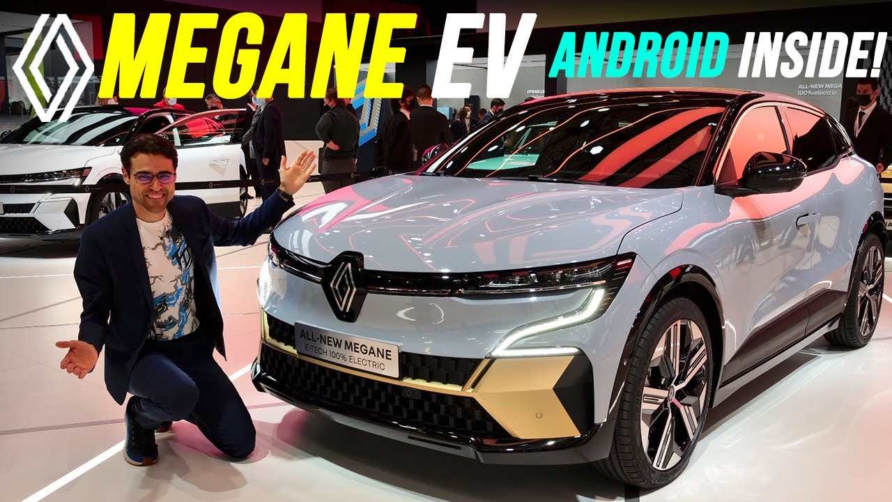 Download all-new Renault Megane EV with Android infotainment! 2022 Mégane e-Tech