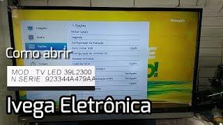 Como abrir Toshiba TV LED 39L2300
