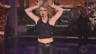 Britney Spears LIVE I´m a slave for you (on letterman show)