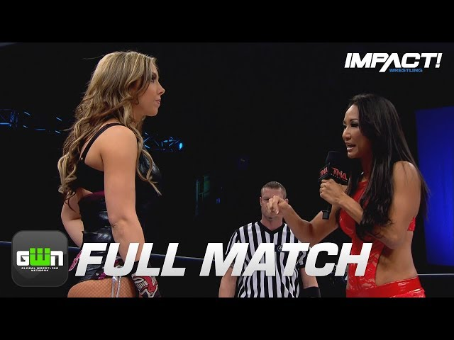 Allies First-Ever PPV Match vs Gail Kim (Knockouts Knockdown 2015) | IMPACT Wrestling Full Matches