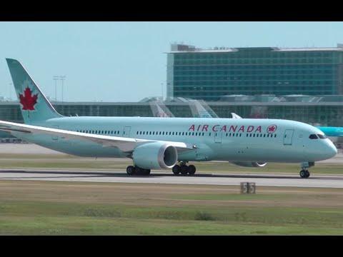 Air Canada Boeing 787-9 Dreamliner Takeoff