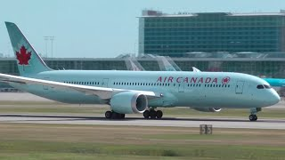 Air Canada Boeing 787-9 Dreamliner Takeoff