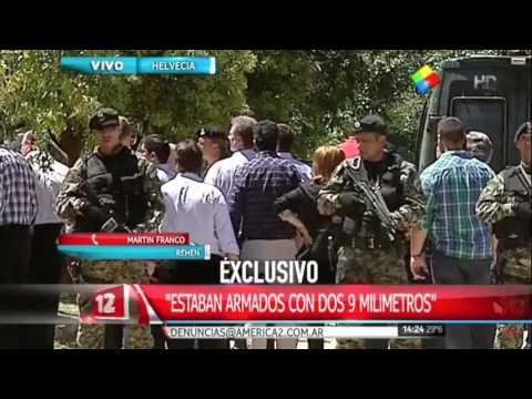 """Habló el rehén de Lanatta y Schillaci: """"Querían ir a Paraguay"""""""