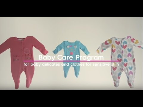 How to Wash Baby Clothes and Clothes for Sensitive Skin - Touchscreen | Electrolux PH