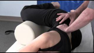 trigger point massage techniques with stew wild the banana stretch for the quadratus lumborum