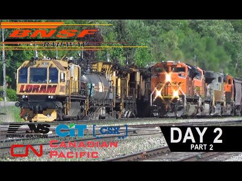 Railfanning on NTD East Dubuque, IL Dubuque, IA Day 2