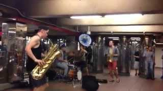 Lucky Chops Brass Band: The Eye of a Tiger