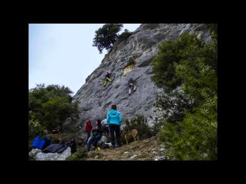 Timelapse - Climbing Sector Street Fighter, Serres Greece, Mirkos Viros (4K HD)